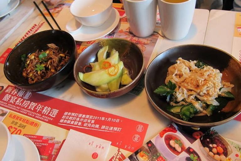 Xi Yan appetisers