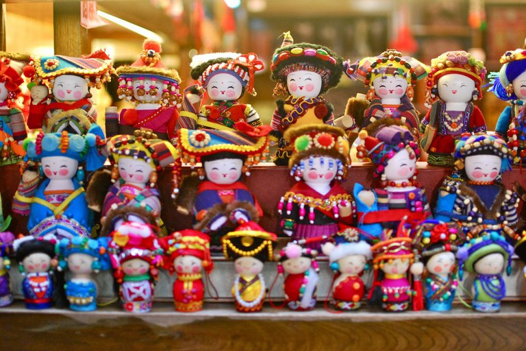 Chinese Souvenir Dolls