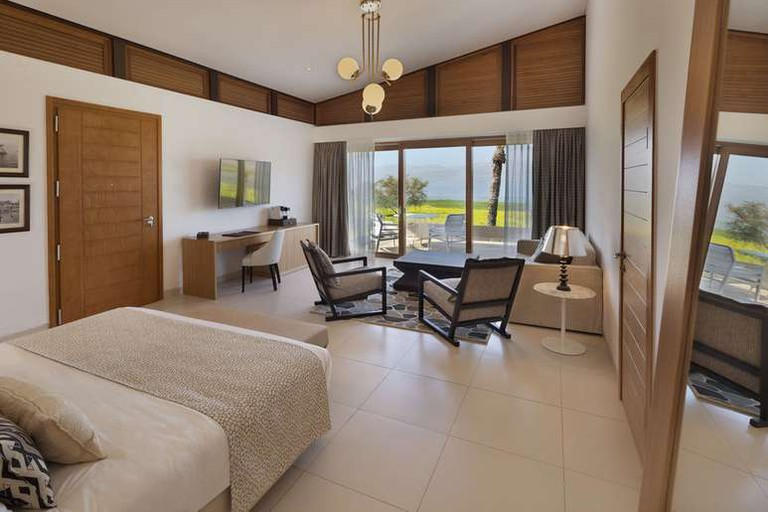 The Setai Sea of Galilee's guest rooms provide incredible views of the surrounding area