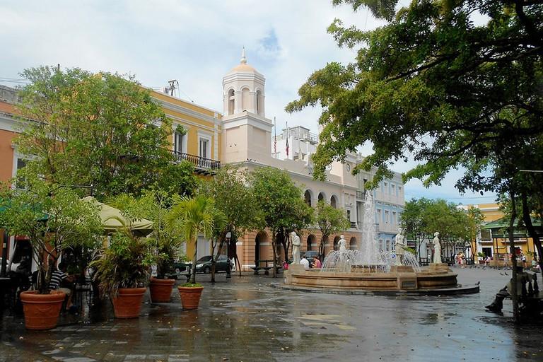 Plaza de Armas, Old San Juan, Puerto Rico