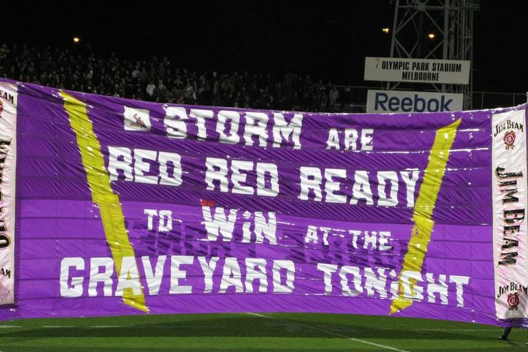 Melbourne Storm banner