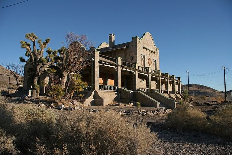 Rhyolite_Train_Station