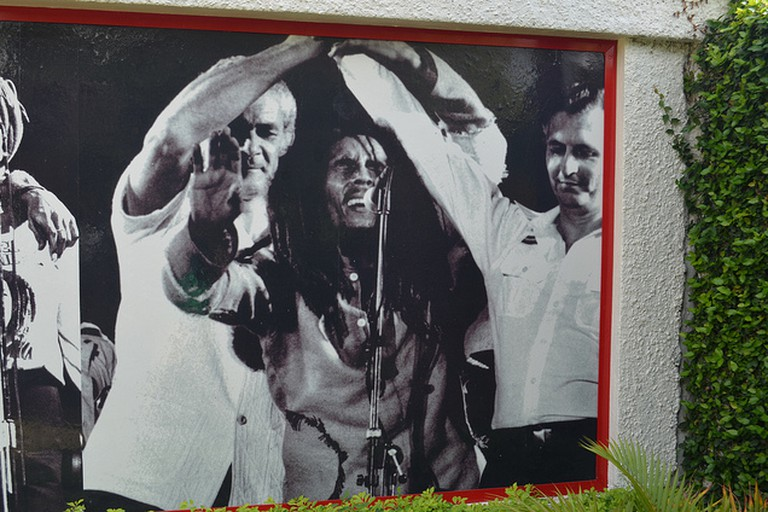The Bob Marley museum, Kingston