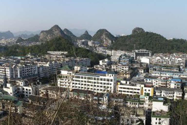 Guilin city panorama