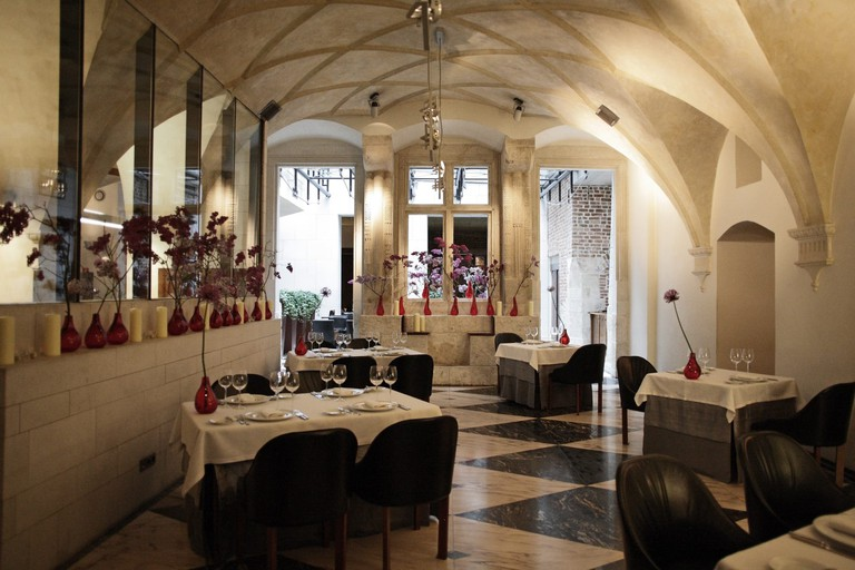 The stylish Trzy Rybki restaurant in Kraków | © Trzy Rybki