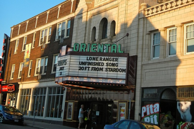 Oriental Landmark Theatre in Milwaukee, Wisconsin