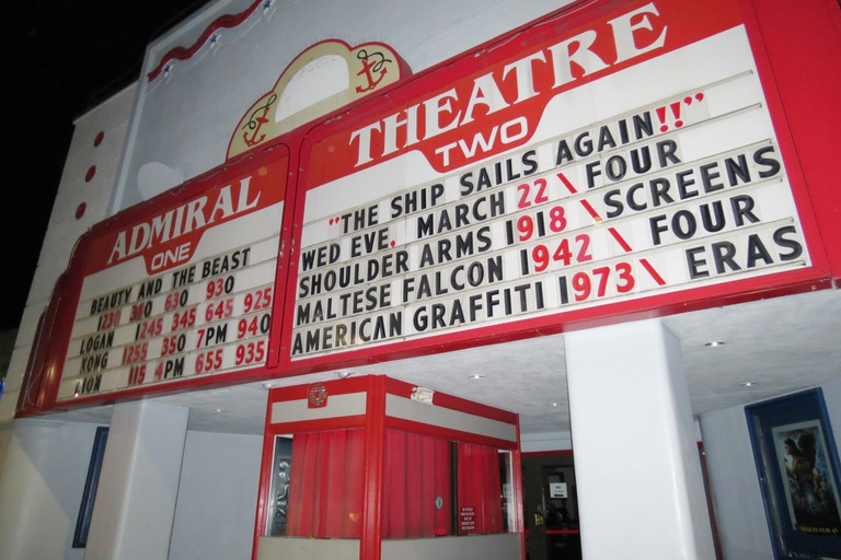 Admiral marquee for reopening