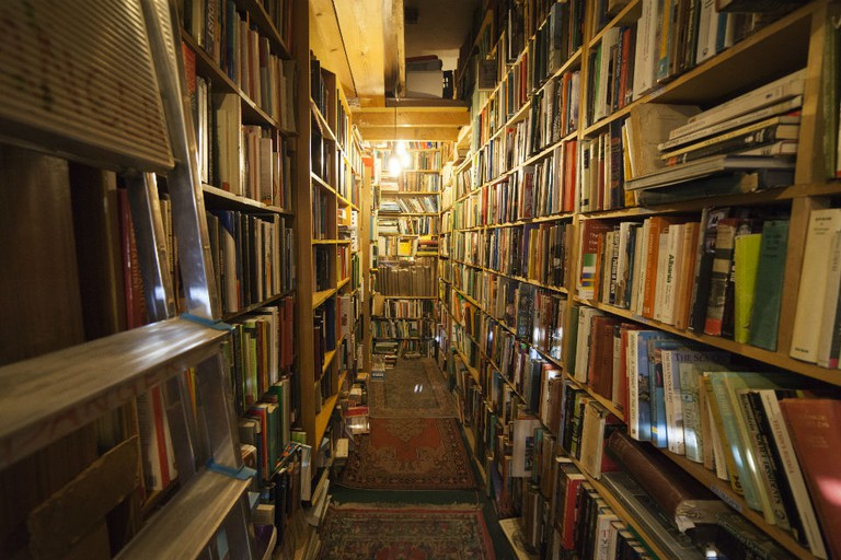 Armchair Books In Edinburgh is a maze of literary gems