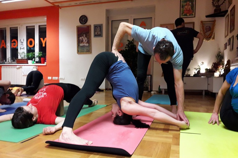 Everything from beginners to experts at Ashtanga Yoga Belgrade