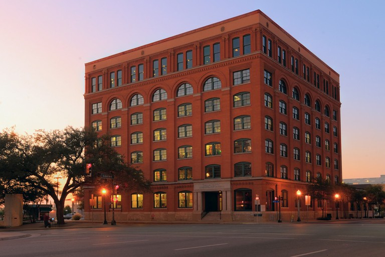 The Sixth Floor Museum at Dealey Plaza is a museum on the life and death of President John F. Kennedy