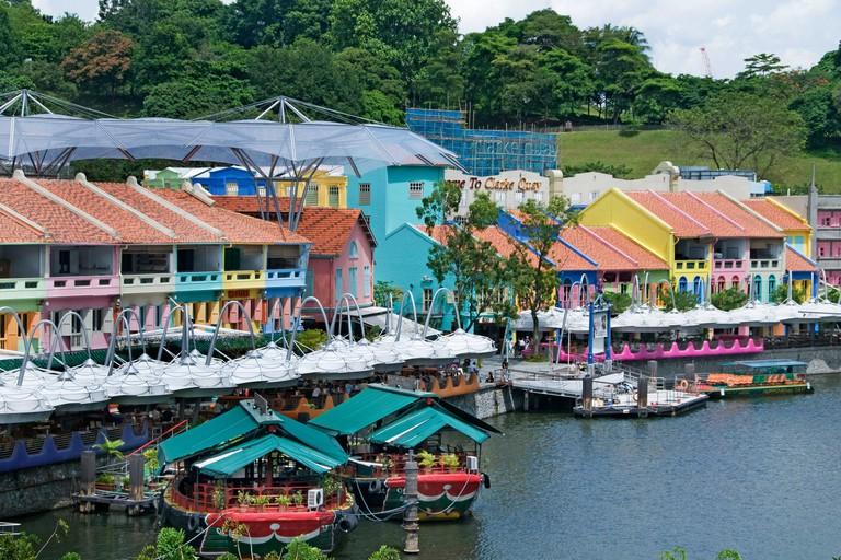 Clarke Clark Quay, Singapore.