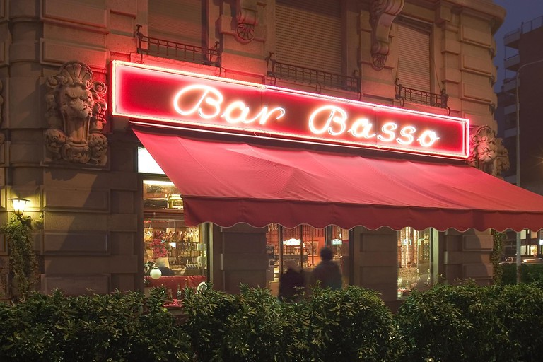 The legendary Bar Basso, Milan | Courtesy Bar Basso Photo: Andrea Zani