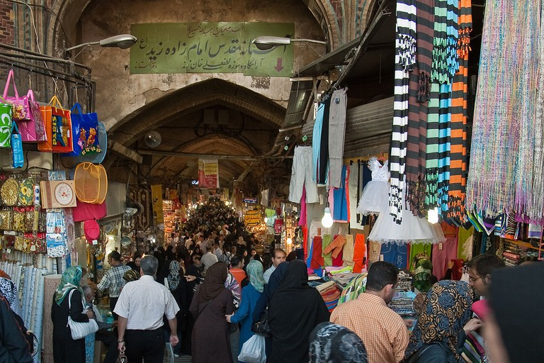 The Grand Bazaar has many locales for cheap eats