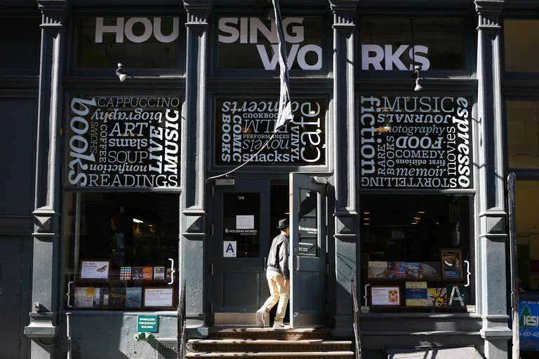 Housing Works Bookstore Café regularly host events