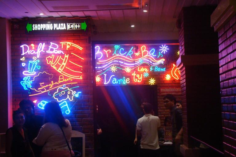 Brick Bar on Khao San Road