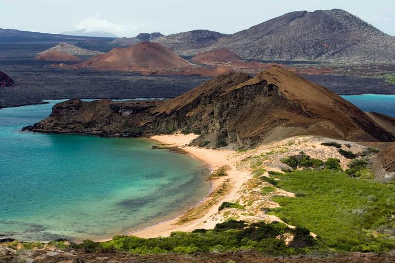 Bartolome Island Landscape - Galapagos Islands, Ecuador