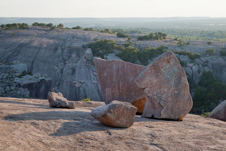 Enchanted Rock State Park near Austin and Fredericksburg
