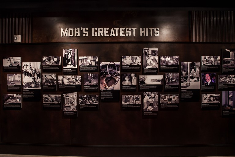 Mob Museum opened in a former courthouse in Las Vegas on February 14, 2012. The $42 million dollar museum features exhibits on organized crime in America with emphasis on their role in Las Vegas.