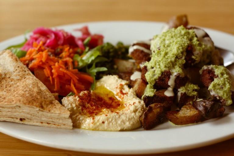 Vegan Falafel Plate