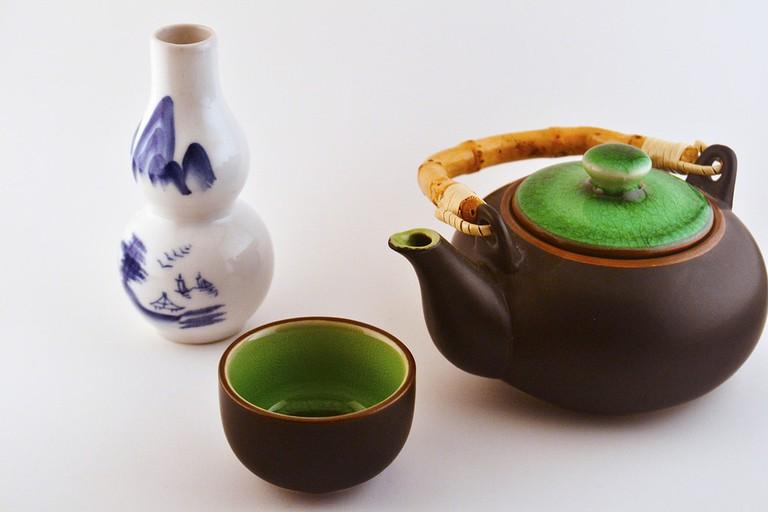 Chinese tea set © CJ/Flickr