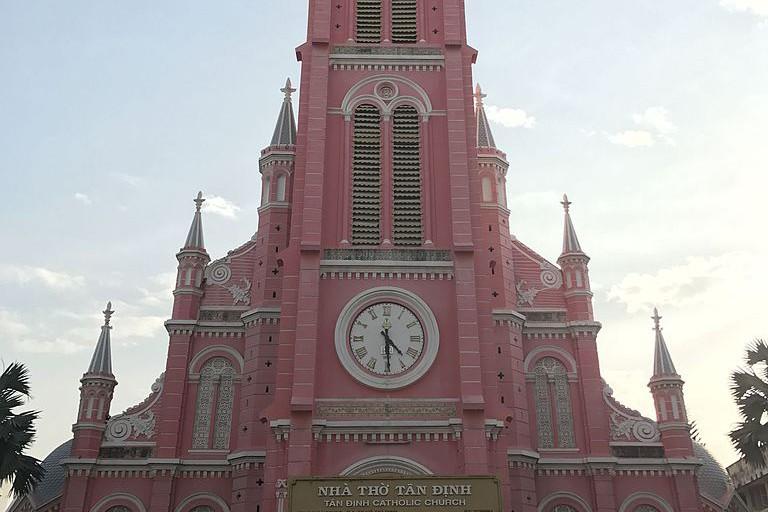 Pink Church in Saigon