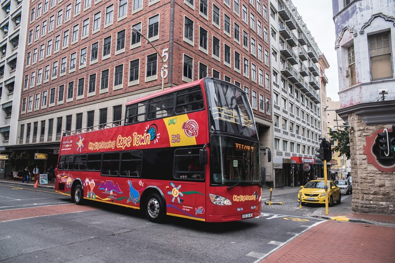 City Sightseeing bus in Long Street