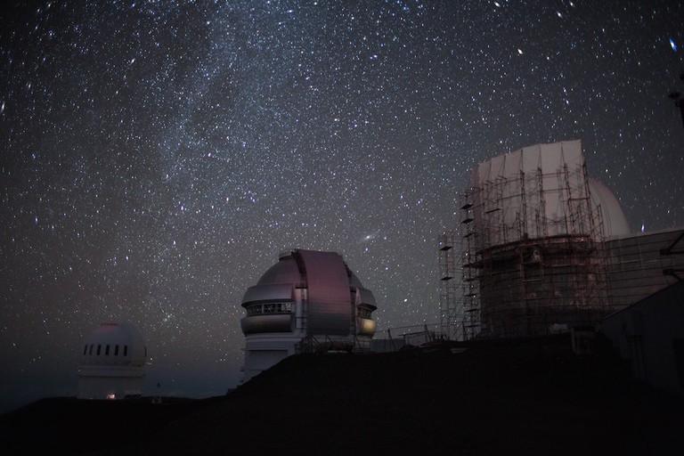 Star Gazing at Mauna Kea | © Conner Baker/Unsplash
