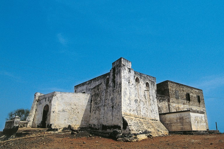 Ghana - Gold Coast - Apam. Patience The Fort, built by the Dutch in 1697.