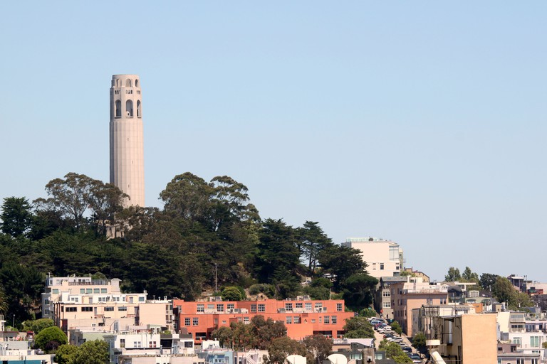 Coit Tower San Francisco, California.