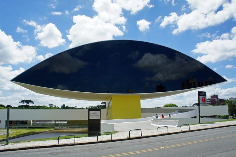 Oscar Niemeyer Museum Curitiba