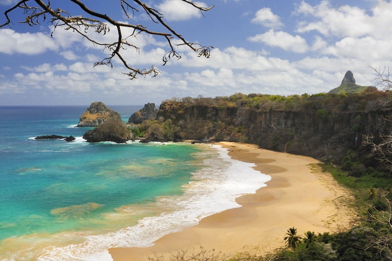 Baia do Sancho, Fernando de Noronha, Brazil. Image shot 2012. Exact date unknown.