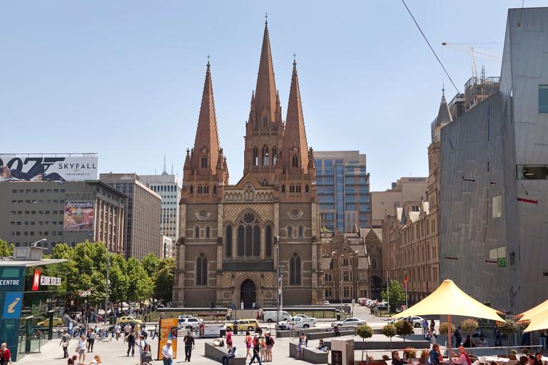 St Paul's Cathedral Melbourne, Australia