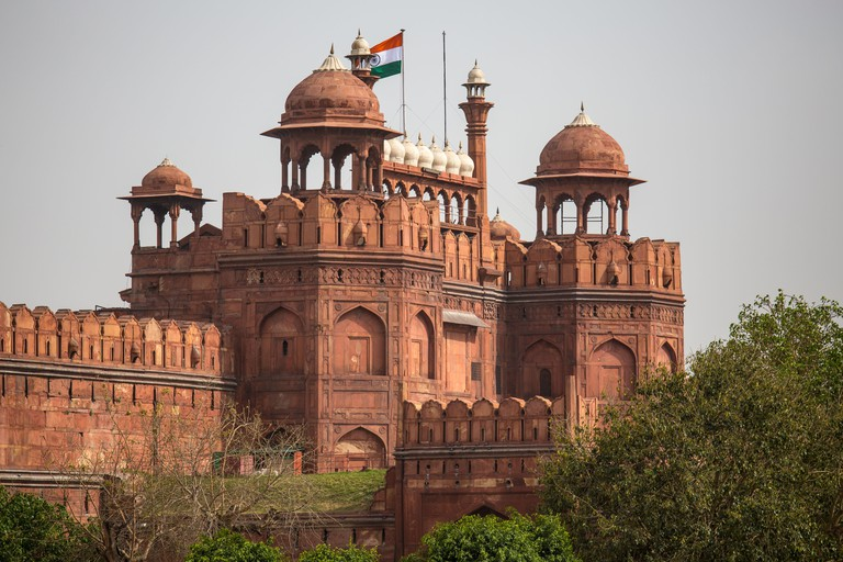 Lal Qila, Red Fort in Delhi, India