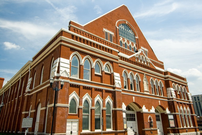 Ryman Auditorium in Nashville, Tennessee