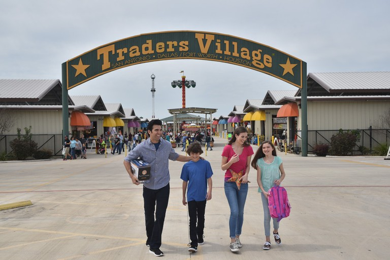 Traders Village Dallas/Fort Worth is the largest weekend flea market in Texas