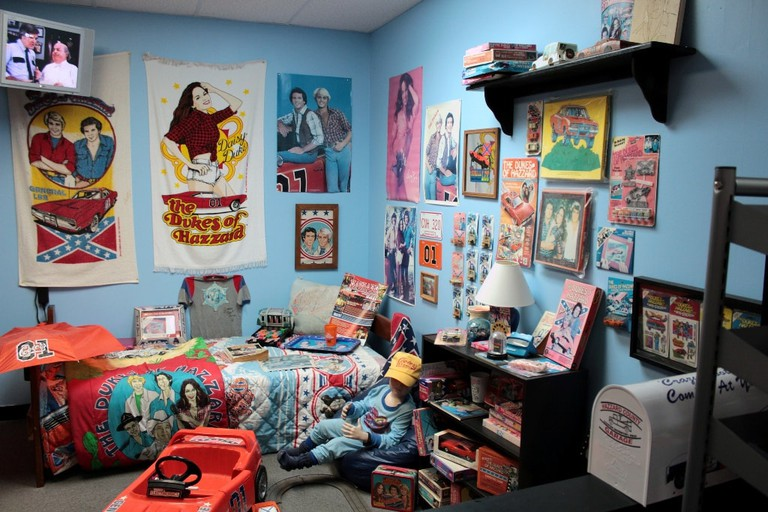 Inside Cooter's Dukes of Hazzard Museum