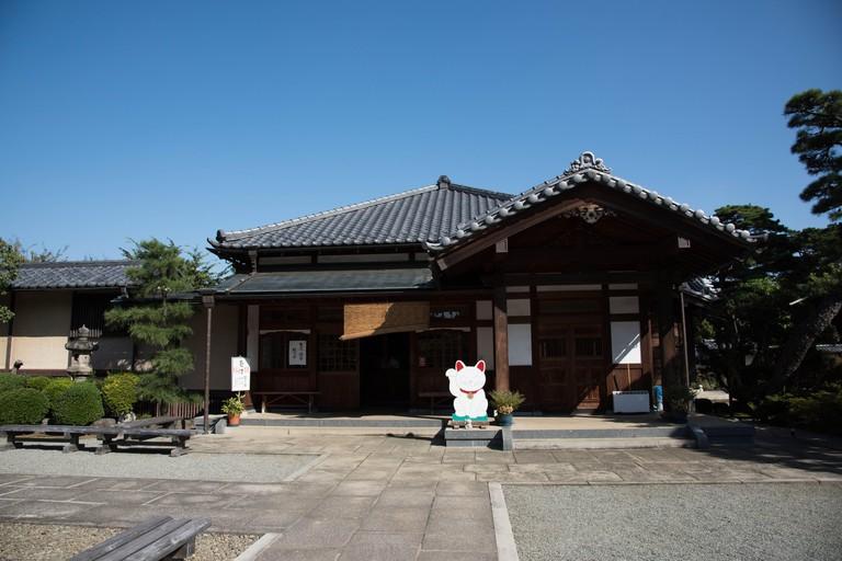 Gotokuji temple, Setagaya, Tokyo, Japan.