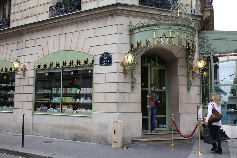 Laduree Champs Elysees, Paris