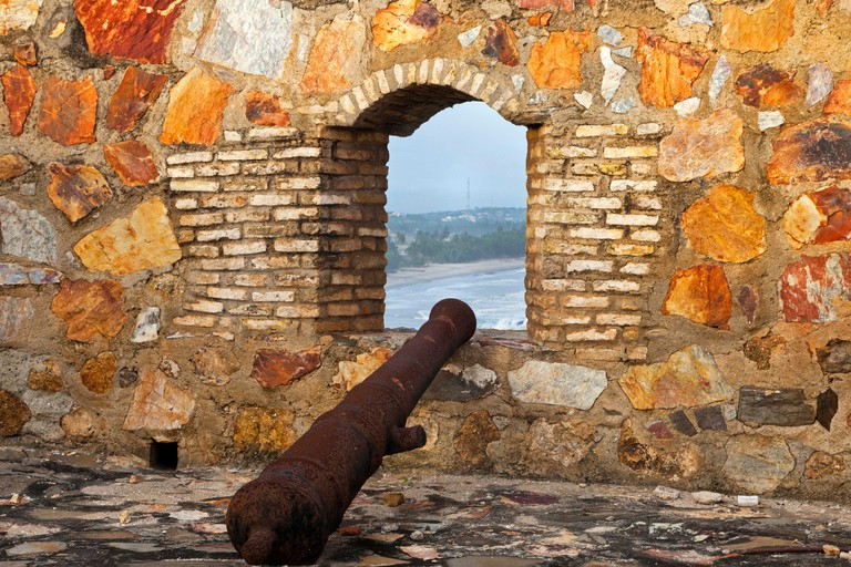 Fort Amsterdam, Abandze, Ghana, Africa