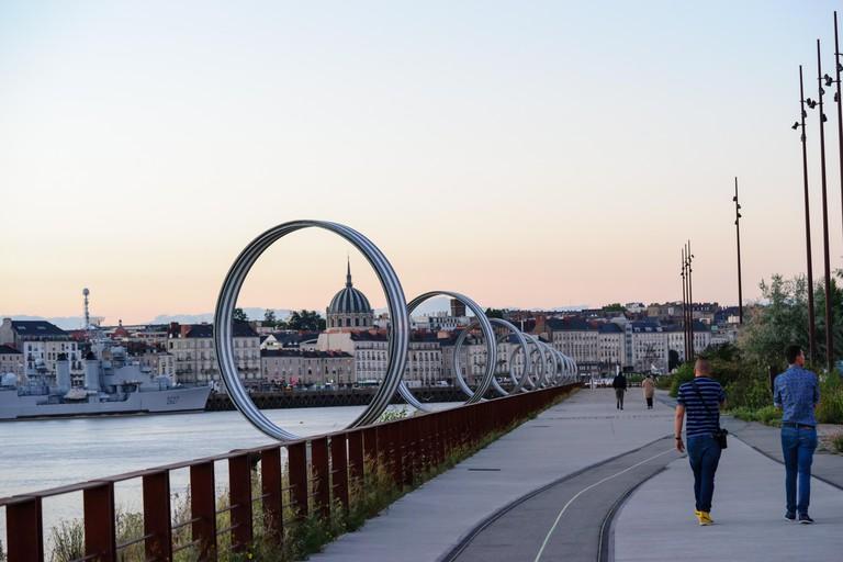 Quai Des Antilles, Nantes, France.