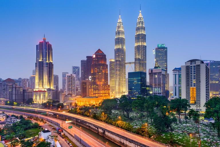 KLCC Park, Kuala Lumpur City Centre