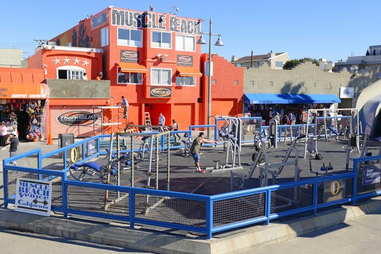 Muscle Beach, Venice California