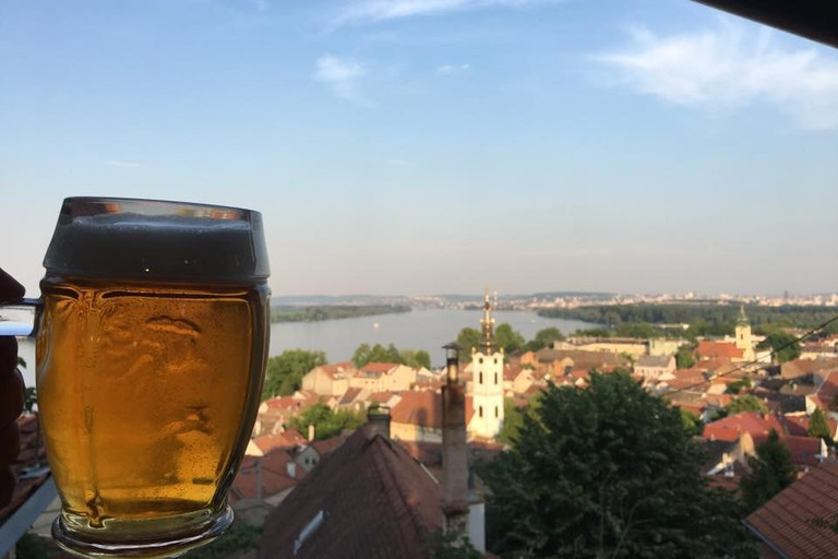 The view from the Fat Cat in Zemun