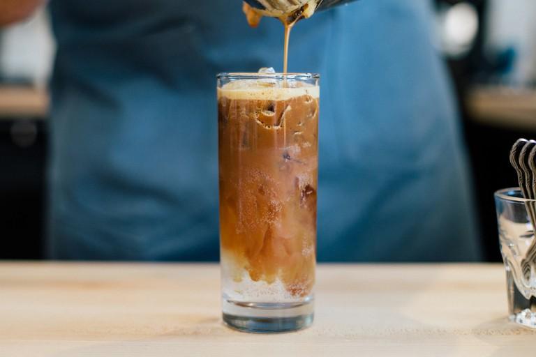 Fleet Coffee's menu is full of inventive drinks