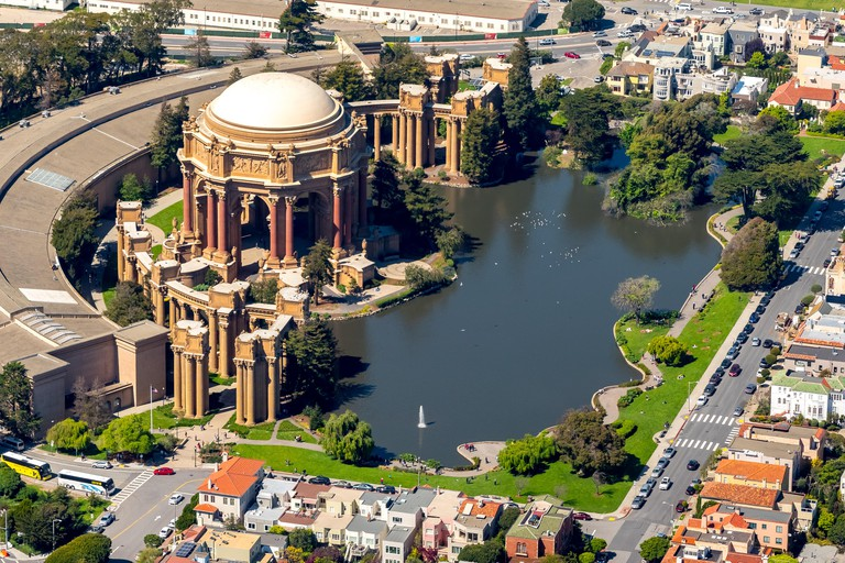 Palace of Fine Arts, Presidio, Theater, San Francisco, San Francisco Bay Area, United States of America, California