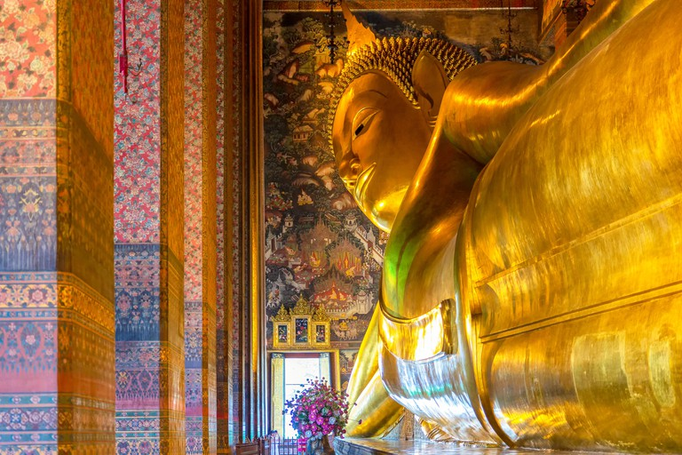 Big Buddha at Wat Pho, Bangkok, Thailand