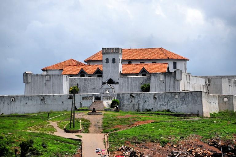 Elmina, Ghana, West Africa: Fort São Tiago / Coenraadsburg