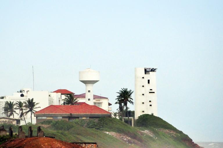 Accra, Ghana, West Africa: Osu Castle