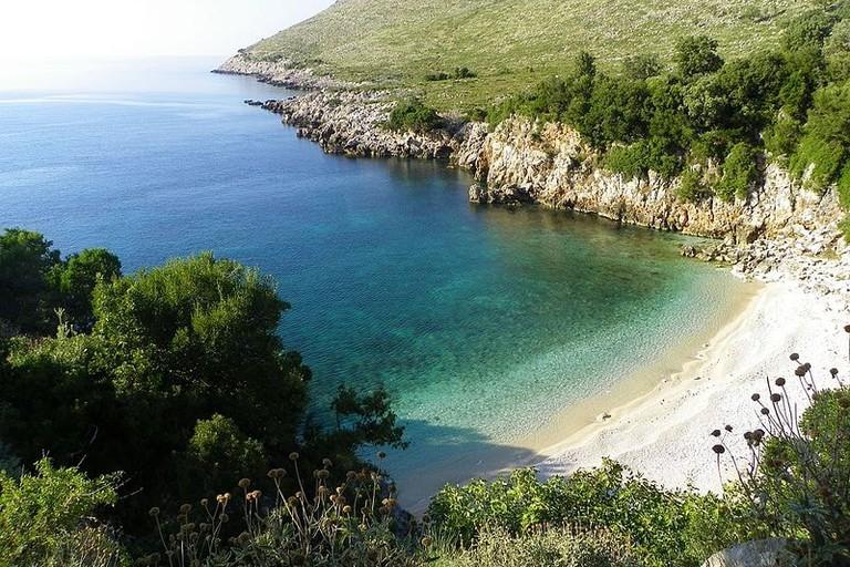 Gjiri_i_Ariut,_Brisan,_Karaburun,_Albania