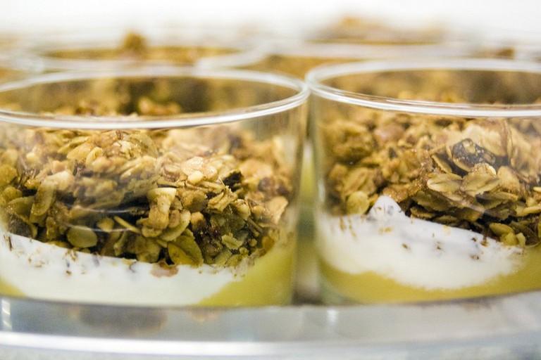 Granolas With Natural Yogurt